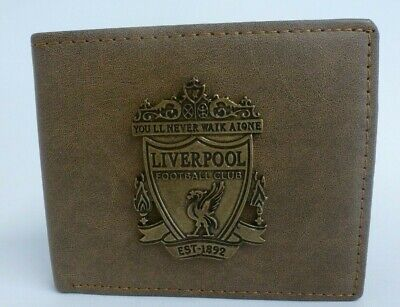 Liverpool FC Brown Leather Wallet • 4.99£