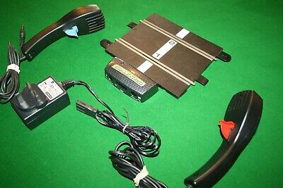 £8.99 • Buy Scalextric Power Base Straight, 2 Controllers, Power Supply Good Condition
