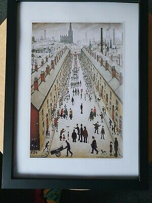£7.99 • Buy L.s Lowry  The Procession  Framed Print