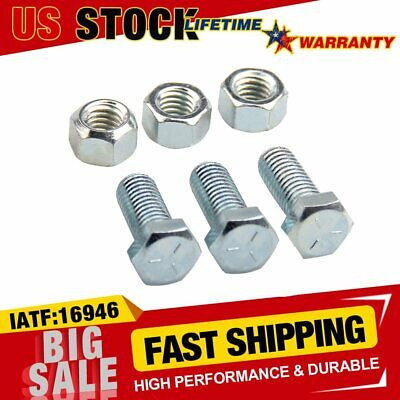 $ CDN8.30 • Buy Durable 6PCS Header Collector Bolt Kits W/ Special Locking Nuts 3/8-16 Hex Heads