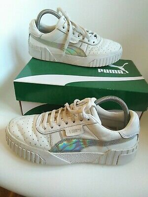 AU8.12 • Buy Puma Women's Trainers  Size 5 White