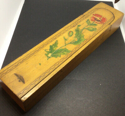 Vintage Wooden Swivel Tiered Pencil Box  • 12.50£