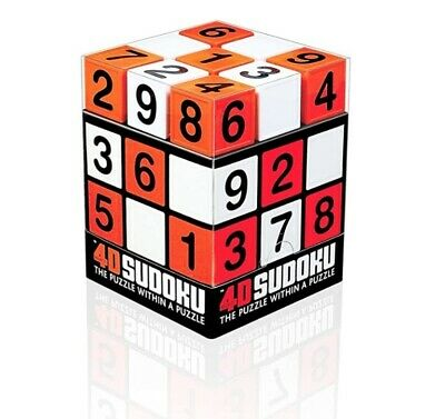 4D Sudoku - The Puzzle Within A Puzzle BNIP Puzzle Enthusiast's Dream Brand New • 7.50£