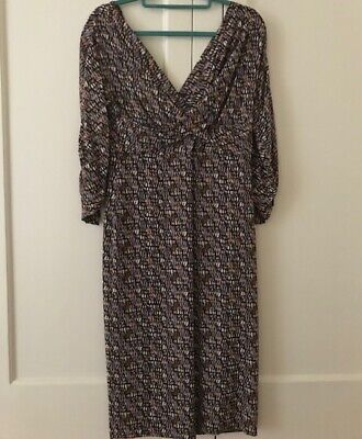 AU95 • Buy SCANLAN THEODORE CROSS OVER DRESS - SIZE 12 Small Sizing Suit 8-10