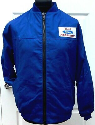£17 • Buy Team Ford Racing Rally Classic Fully-Lined Badged Bomber Jacket 40 - 42  Chest