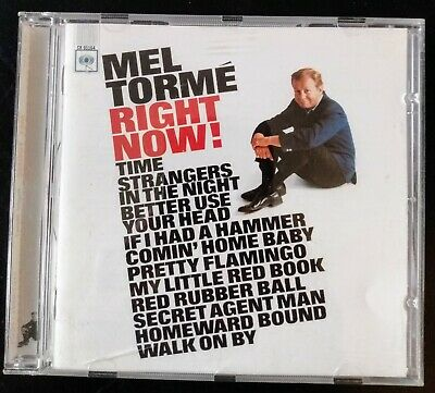 Mel Tormé ‎'Right Now!' (22 Tracks Including Mod & Northern Soul Classics) • 3£