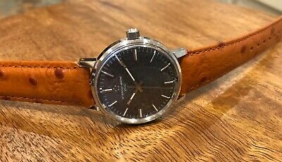 Vintage Mens Eterna-matic 1000. Automatic Wrist Watch. Working. Dated 1968. • 140£