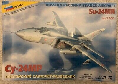 Zvezda 7268 - 1/72 Russian Air Force Su-24Mr - New-Sealed • 19.99£