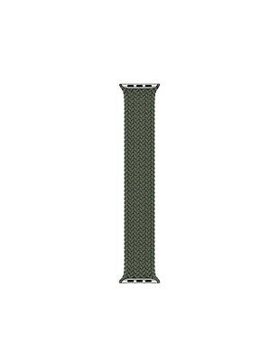 $ CDN189.34 • Buy Green Braided Solo Loop Band Size 6 For Apple Watch Series 6 SE 5 4 3 44mm NEW