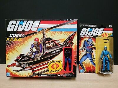 $ CDN69.44 • Buy Hasbro GI Joe Retro Collection Cobra Fang Helicopter & Cobra Commander Exclusive