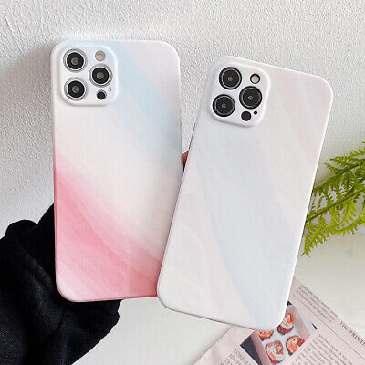 AU5.24 • Buy Gradient Glitter Marble Soft Phone Case Cover For IPhone 12 Mini 11 Pro XS Max 8