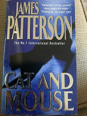 AU5 • Buy Cat And Mouse By James Patterson (Paperback, 1998)