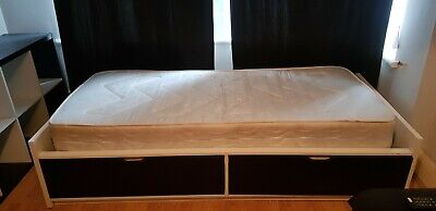 Ikea Single Bed With Mattress • 9£
