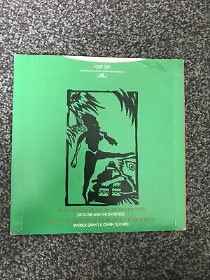 "Siouxsie And The Banshees – Arabian Knights 7"" Vinyl Single • 4.99£"