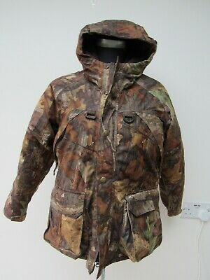 £35 • Buy Kids Cabela's Advantage Timber Hunting Camouflage Padded Coat 11-12 Years Size L