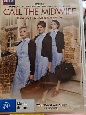 £4.99 • Buy Call The Midwife: Series 4 DVD! PLUS CHRISTMAS SPECIAL. VGC REGION 4 IMPORT