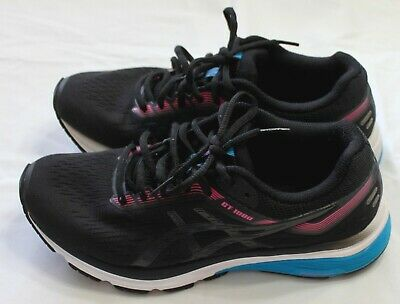 Asics GT1000 Arch Support Black Women's Breathable Comfort Sneakers Shoes SZ 7M  • 13.74£