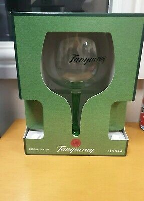 Tanqueray Gin Glass Green Stem  Brand New • 7.50£