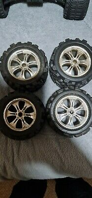 14mm Hex Big Joe Wheels And Tyres 1/8 Scale • 14.50£