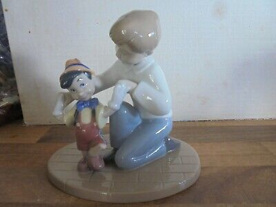 Nao By Lladro Disney   PINOCCHIO'S FIRST STEPS 02001678 • 85£