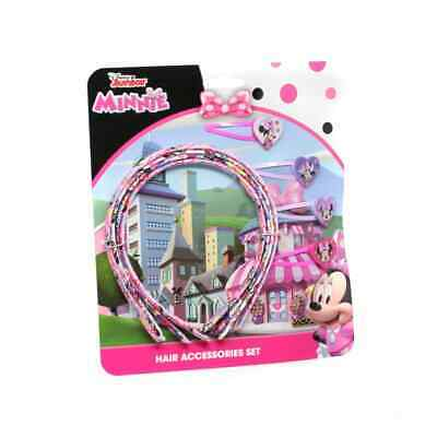 AU9.13 • Buy 8 Pcs Minnie Mouse Girls Hair Accessories Set Hair Bands Hair Clips Jewellery