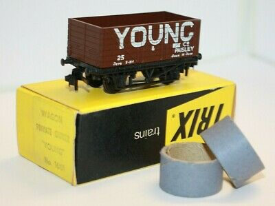 £7.99 • Buy Vintage 1967-1972 Trix OO/HO 1661 Young & Co Private Owner Wagon Original Box #3