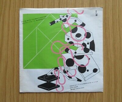 Ian Dury - Hit Me With Your Rhythm Stick. Original 7 Inch Vinyl From 1978. • 0.75£