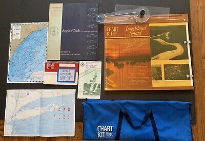 Marine BBA Chart Kit Plotter W/ Instructions And Carry Case, Charts And Map Kits • 61.46£