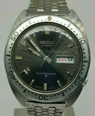 $ CDN364.36 • Buy Seiko SPORT Diver Watch Automatic 6106 8110 Vintage 1968 Men's Water 70m Proof