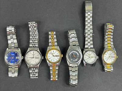 $ CDN12.67 • Buy Seiko Wrist Watch Lot Of 6 Watches Womens - Hi Beat - 5- Quartz Automatic Vtg
