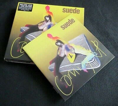 🎵💿 SOLD OUT LIMITED EDITION - SUEDE COMING UP DELUXE 2 CD + DVD Set 💿🎵 • 39.99£