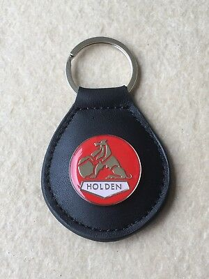 AU7.50 • Buy Holden Leather Keyring Keyfob. Top Quality NOS. Kingswood Monaro Torana