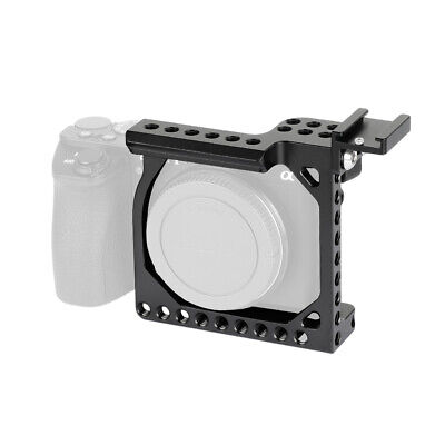 $ CDN57.69 • Buy Compact Camera Cage Rig Shoe Mount Adapter For Sony A6500 A6600 Canon EOS M