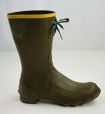 LaCrosse Outdoorsman Green Duck Boots Size 12 Hunting Boots  • 28.94£
