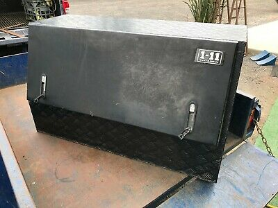 AU11.50 • Buy Builders Trailer Or UTE Tool Box 1-11 Checker Plate Aluminum 1210x500x705mm