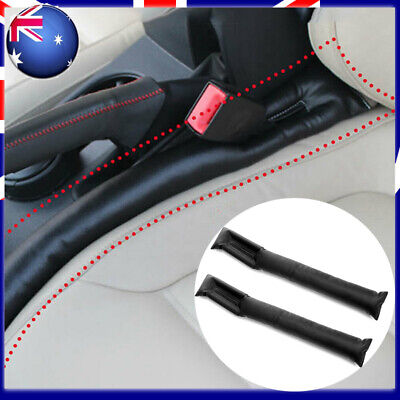 AU11.99 • Buy 2Pcs Car Accessories PU Leather Seat Gap Filler Spacer Auto Supply Universal