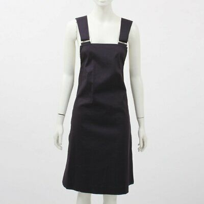 AU159 • Buy Scanlan Theodore Cotton Pinafore Dress Size 8