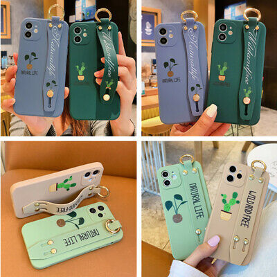 AU6 • Buy Cute Cactus Hand Strap Holder Soft Case Cover For IPhone 12 Pro Max 11 XS XR 7 8