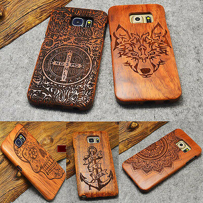 $ CDN16.38 • Buy Phone Case Original Wood Bamboo Fitted Cover For Samsung Galaxy S9 Plus Note 5