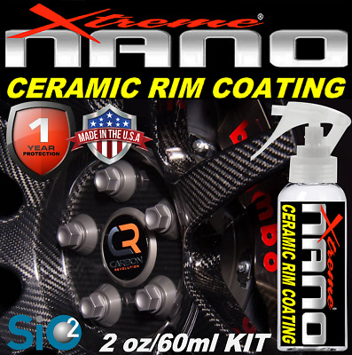 $24.95 • Buy Nano Ceramic Rim & Wheel Clear Coating Protects From Brake Dust Dirt Scratches