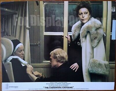 Cassandra Crossing Film Foyer Cards - Sophia Loren, Richard Harris, Ava Gardner, • 9.99£