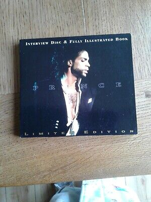Prince Interview CD/book. Excellent Condition. • 4.50£