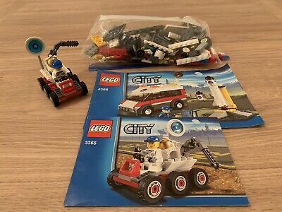 £10 • Buy Lego City Space Shuttle 3366 And Moon Buggy 3365