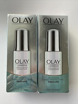AU34.76 • Buy 2-OLAY Luminous Miracle Boost Concentrate Advanced Tone Perfecting Prepare 1oz