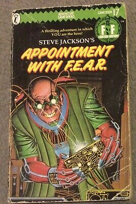 AU18.53 • Buy Appointment With F.E.A.R Fighting Fantasy 1st Ed 1985 Clean Sheet Numbered Spine