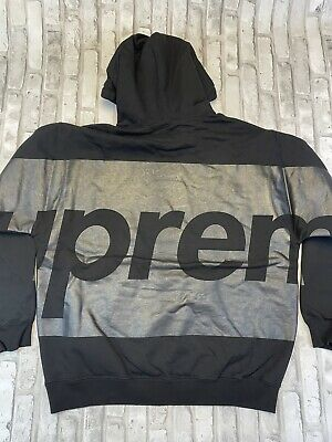 $ CDN317.16 • Buy Supreme Big Logo Hoodie Black Large DS IN HAND READY TO SHIP