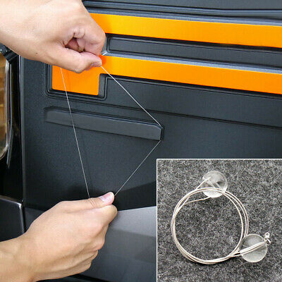 $2.36 • Buy 1PC Car Vehicle Emblem Logo Spoiler Stripping Peeling Tool Remover Accessories