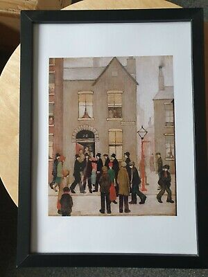 £6.99 • Buy L.s Lowry  THE ARREST  Framed Print
