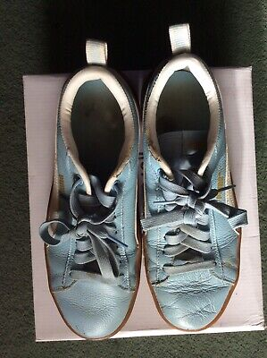 AU3.16 • Buy Ladies/ Girls Puma Blue Casual Trainers Size 6.5