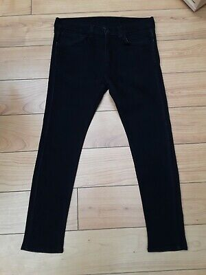 Levi 519 Extreme Skinny Stretch  Fit Jeans W34 L30 Black And In Great Condition  • 35.99£